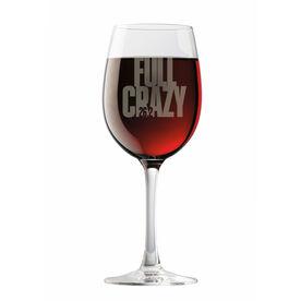Wine Glass 26.2 Full Crazy