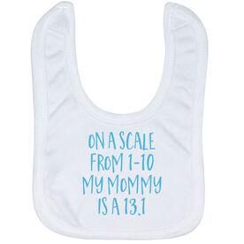Running Baby Bib - My Mommy Is A 13.1