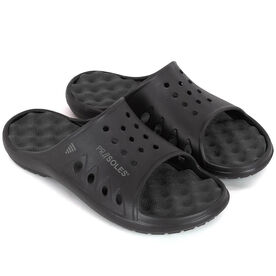 PR SOLES® Original Recovery Slide Sandals - Black
