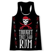 Women's Performance Tank Top - Thought They Said Rum