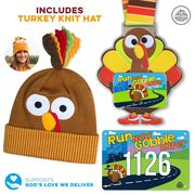Virtual Race - Run Now Gobble Later® 5K or 1 Mile (2020)