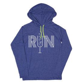 Women's Running Lightweight Hoodie - Champagne Run