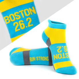 Socrates® Woven Performance Sock - Boston 26.2