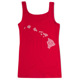 Women's Athletic Tank Top Hawaii State Runner