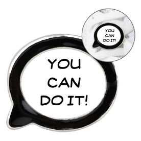 Running Shoelace Charm - You Can Do It