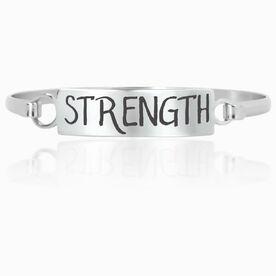 Running Engraved Clasp Bracelet InspireSTRENGTH