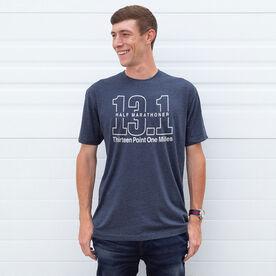 Running Short Sleeve T-Shirt - Half Marathoner 13.1 Miles
