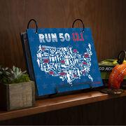 BibFOLIO® Race Bib Album - Run 50 13.1