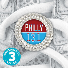 Shoe Lace Charm Philly 13.1