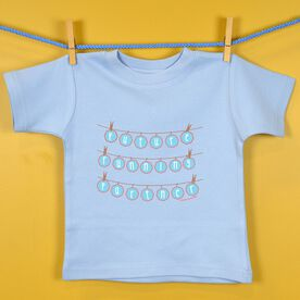 Baby T-shirt Future Running Partner Clothes Line