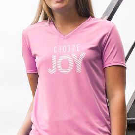 Women's Short Sleeve Tech Tee - Choose Joy