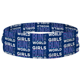 Running Multifunctional Headwear - Girls Run The World RokBAND