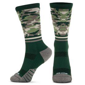 Socrates® Mid-Calf Performance Socks - Don't Quit