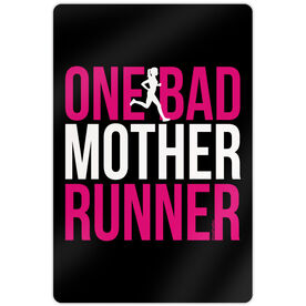 "Running 18"" X 12"" Wall Art - One Bad Mother Runner"