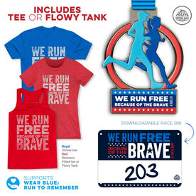 Virtual Race - We Run Free Because of the Brave 4-Miler (2020)