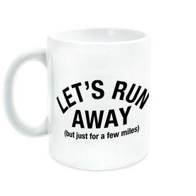 Running Coffee Mug - Let's Run Away