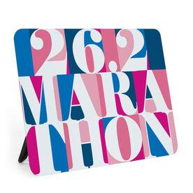 Running Desk Art - 26.2 Marathon Mosaic