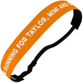 Running Juliband No-Slip Headband - I'm Running for...