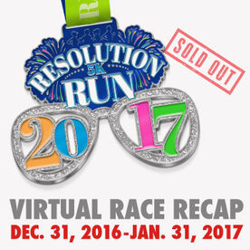 Virtual Race - 2017 Resolution Run 5K