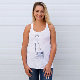 Flowy Racerback Tank Top - Moms Run This Town Delaware Runner
