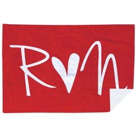 Running Premium Blanket - Run Heart