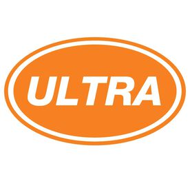 ULTRA Oval Running Vinyl Decal