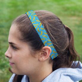 Running Julibands No-Slip Headbands - Banana Pattern