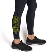Running Leggings - May The Course Be With You