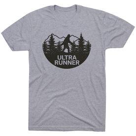 Running Short Sleeve T-Shirt - Ultra Runner Bigfoot