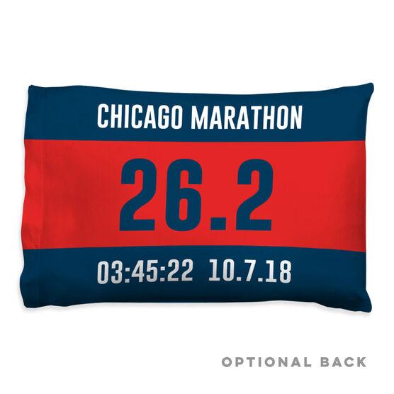 Running Pillow Case - Custom Bib