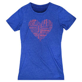 Women's Everyday Runners Tee Runner Mom's Heart