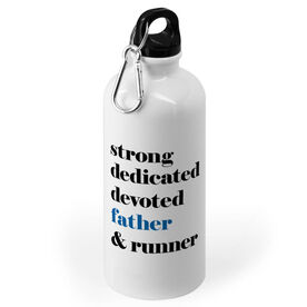 Running 20 oz. Stainless Steel Water Bottle - Mantra - Father