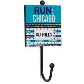 Running Medal Hook - Run For Chicago (Dry Erase)