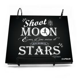 BibFOLIO® Race Bib Album - Shoot For The Moon