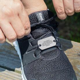 Dog Tag IDmeBAND Engraved Shoe ID