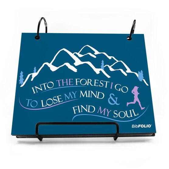 BibFOLIO® Race Bib Album - Into The Forest I Go (Female)