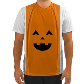 Men's Running Customized Short Sleeve Tech Tee Jack O' Lantern