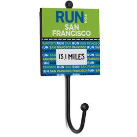 Running Medal Hook - Run For San Francisco (Dry Erase)