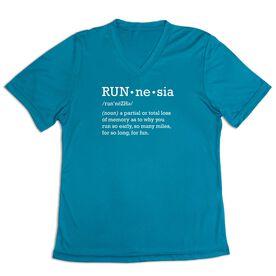 Women's Short Sleeve Tech Tee - RUNnesia