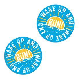 Running Stickers - Wake Up And Run (Set of 2)