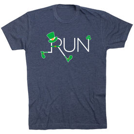 Running Short Sleeve T-Shirt - Let's Run Lucky