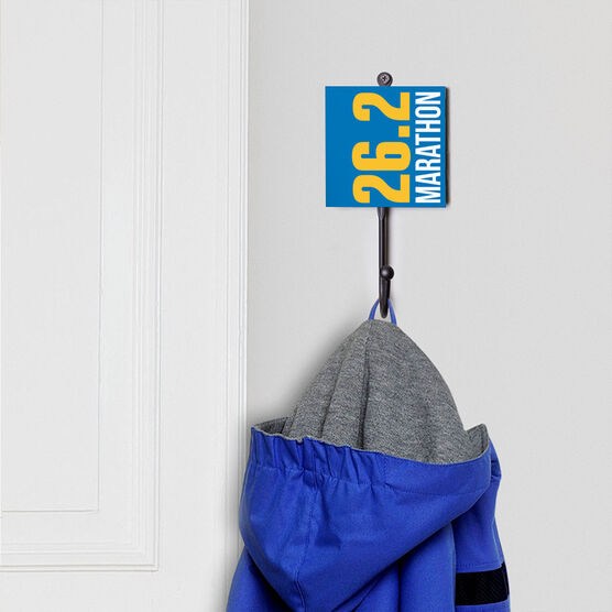 Running Medal Hook - 26.2 Marathon Vertical