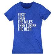 Women's Everyday Runners Tee - Then I Drink The Beer