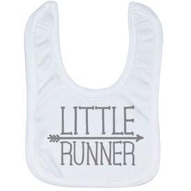 Running Baby Bib - Little Runner