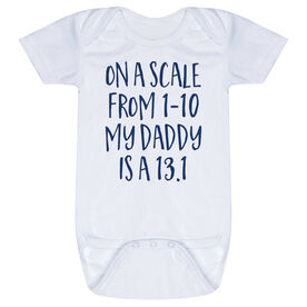 Running Baby One-Piece - My Daddy Is A 13.1