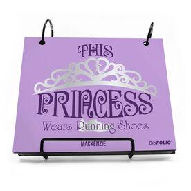 BibFOLIO® Race Bib Album - This Princess Wears Running Shoes