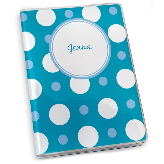 GoneForaRun Running Journal - Personalized Polka Dots