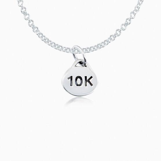Sterling Silver 10K Oval Necklace