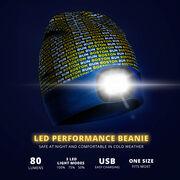 LED Performance Beanie - Boston