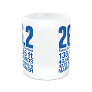 Running Coffee Mug - 26.2 Math Miles